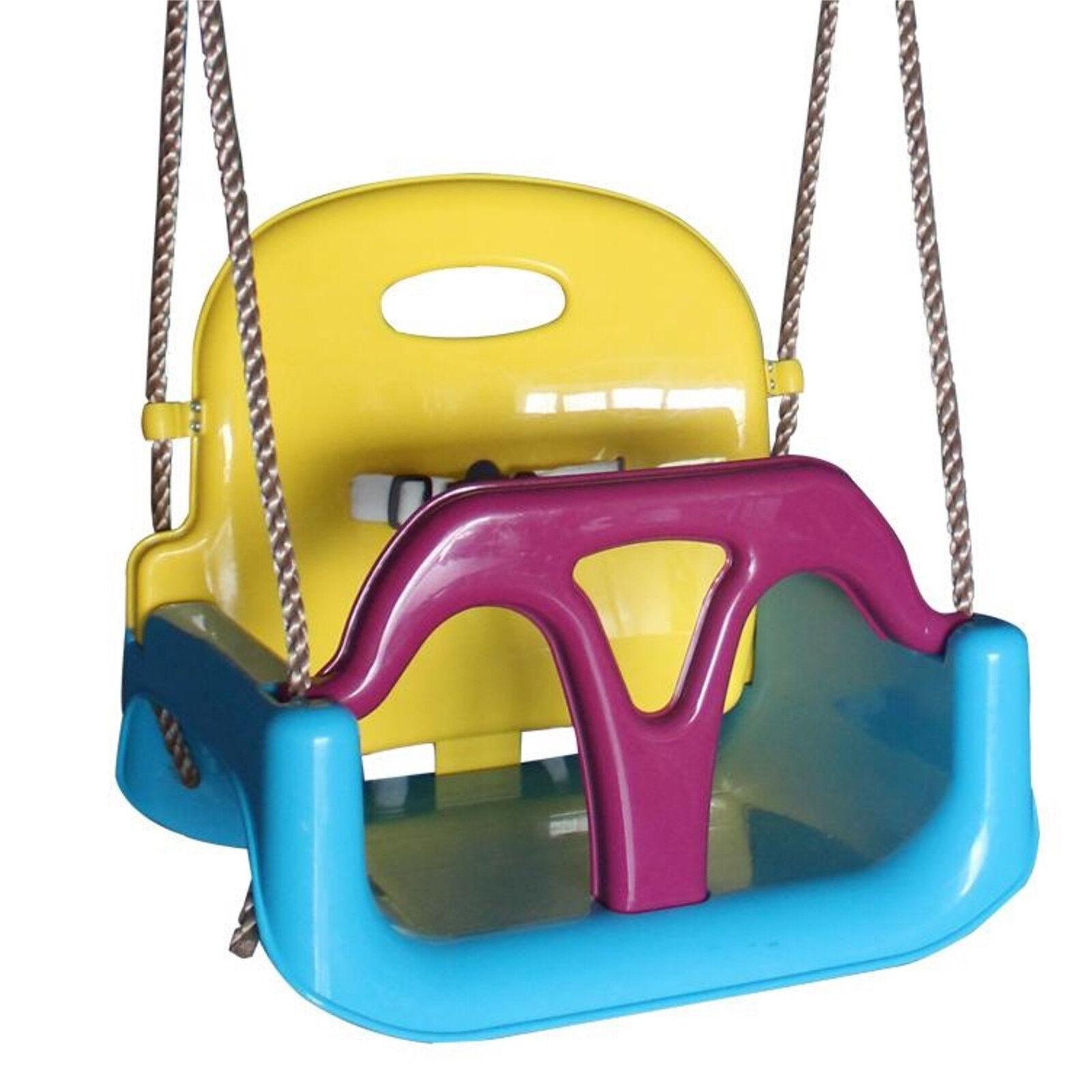 LoggyLand Babyschaukel 3 in 1 Komfort Kleinkindschaukel für Baby Schaukelsitz