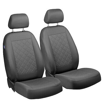 Graue Sitzbezüge für AUDI A3 Autositzbezug VORNE