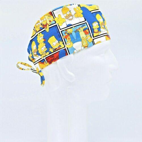The Simpsons Theme Scrub Hat