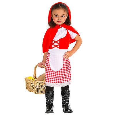 Süßes Rotkäppchen Mädchen Kostüm Karneval Fasching Halloween Girlie Kinder - Süßes Mädchen Kostüm