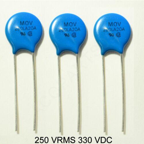 Movistar 250LA20A Radial 250 VRMS 330 VDC 14MM MOV Varistor