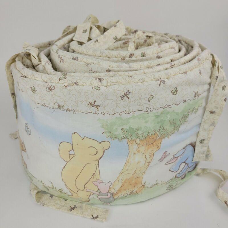Disney Classic Winnie The Pooh Eeyore Tigger Piglet Baby Crib Bumper