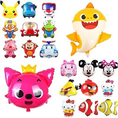 Pinkfong Baby Shark Big Character Helium Balloon Birthday Party Supplies Decor (Shark Supplies)