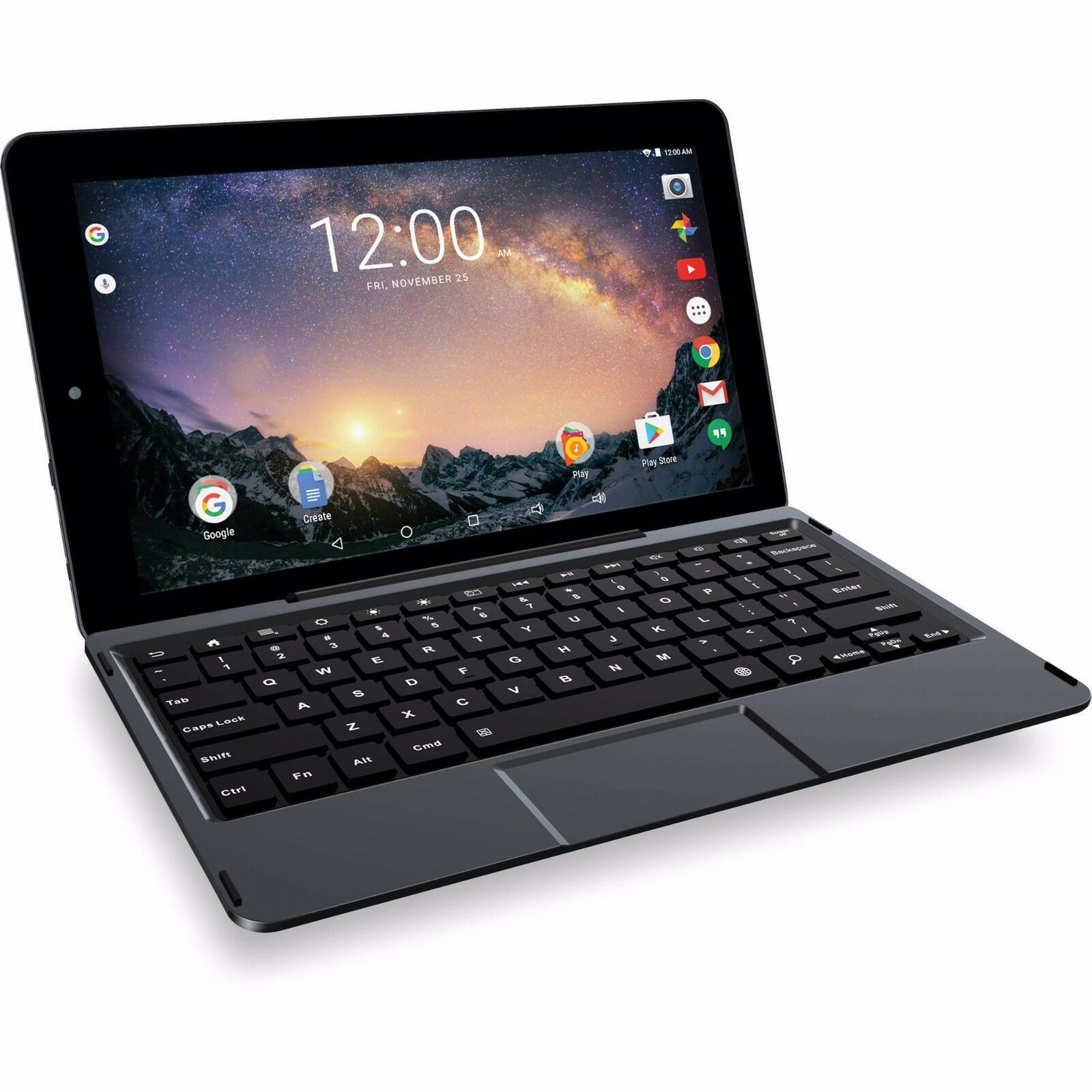 $89.88 - RCA Galileo 32GB Pro 11.5 Touchscreen QuadCore Android 6.0 Keyboard Tablet BLACK