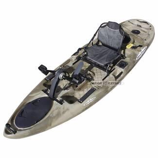 Siren Pedal Kayak Gold Coast Fishing Canoe