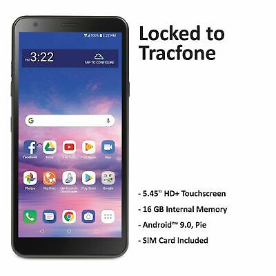 Android Phone - Tracfone LG Journey 4G LTE Prepaid Cell Phone