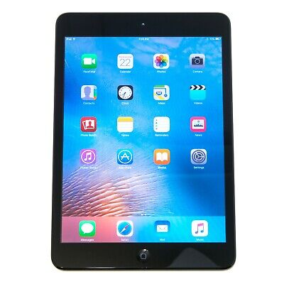 "Apple iPad mini 16GB 1st Gen Wi-Fi 7.9"" Tablet Black Grade A"