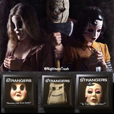 The Strangers Mask Collection Movie Prey At Night Prop Replica Horror - The Strangers Mask Halloween