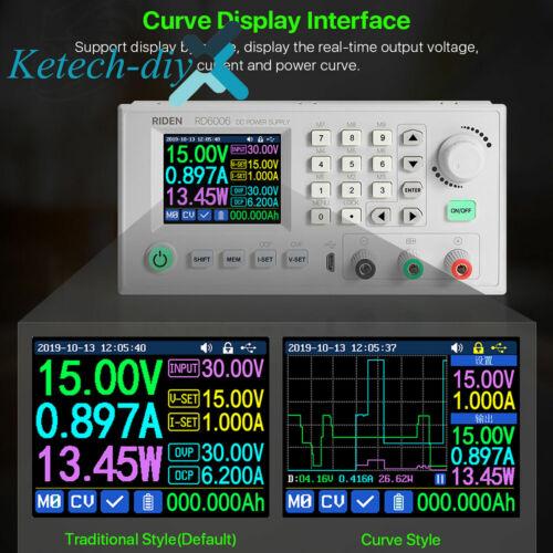 RD6006W DC-DC Voltage Current Step-Down Converter Voltmeter Digital Power Supply
