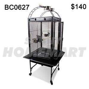 Large 140CM Black Arched Roof Pet Bird Parrot Canary Cage Derrimut Brimbank Area Preview