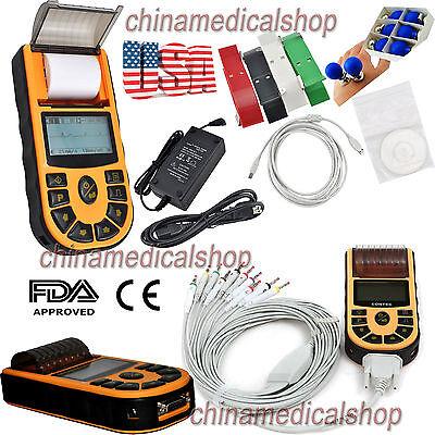 Free Pc Software Electrocardiograph Single Channel Ecgekg Machine 12 Lead Fda