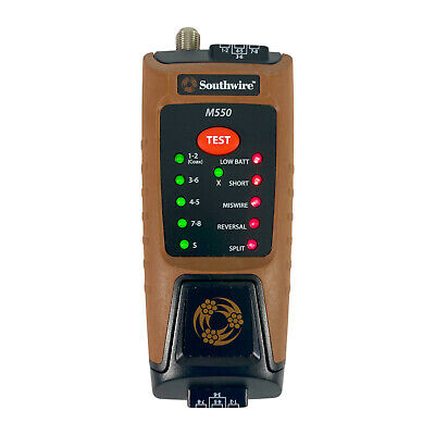 Southwire M550 Data Video Cable Tester