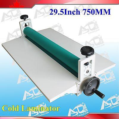 All Metal Frame 29.5In Manual Roll Cold Laminator Film Mount Laminating Machine