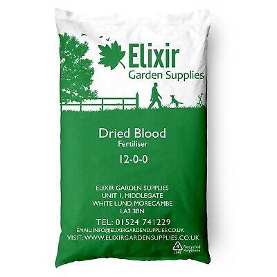 Dried Blood Multi-Purpose Plant Food Fertiliser 12-0-0 25kg Bag