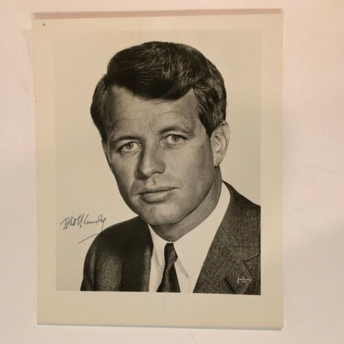 Robert F. Kennedy United States Senator Signed 8