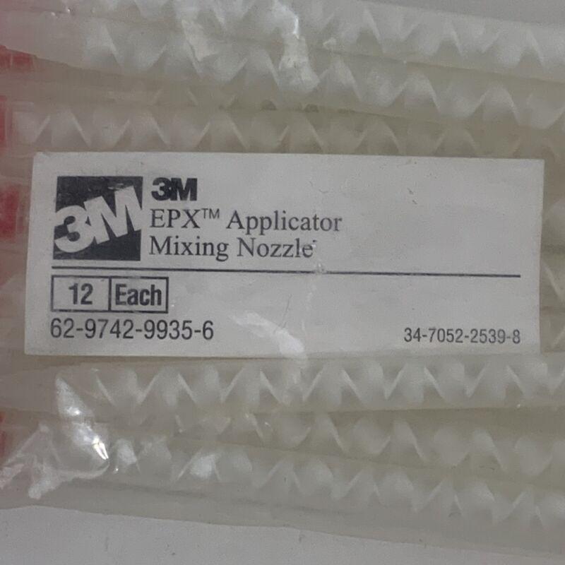 3M EPX Applicator Mixing Nozzle PN 21791 Bag(12)