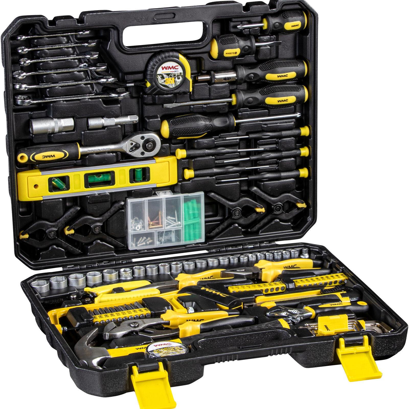 Werkzeugkoffer Werkzeug Set WMC Tools 168 Teile Kasten Box Kiste Heimwerker Bits