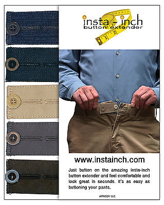 PANTS RELIEF INST-INCH BUTTON WAISTBAND EXTENDERS