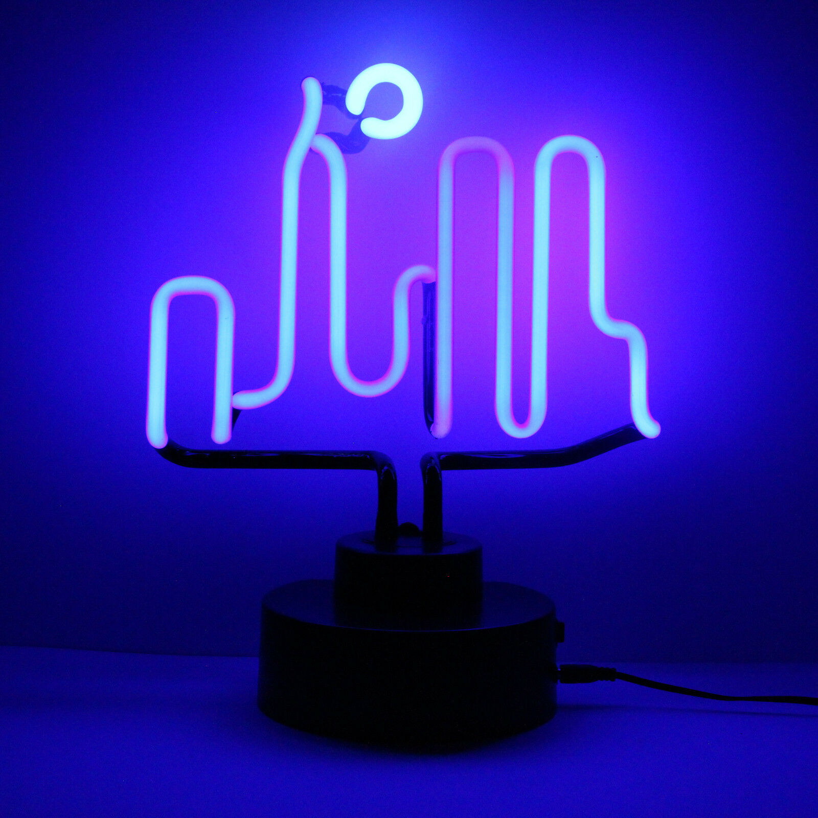 Meglio Neon O Led dettagli su vero neon (non led) città profilo luce scultura lettura tavolo  lampada neonetics