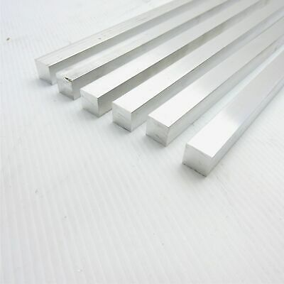 1.5 X 1.5 Aluminum 6061 Square Solid Flat Bar 6 Long Pieces 6 Sku M637
