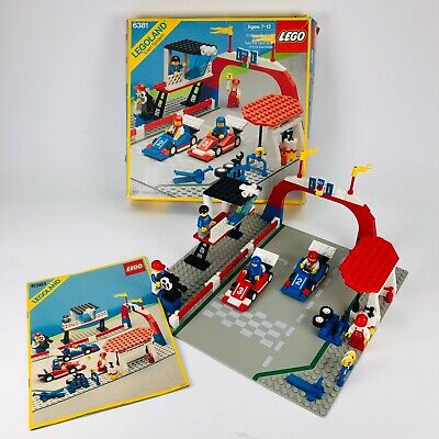 Lego Town Classic Motor Speedway (6381) 100 % Complete with Manual & Box Vintage