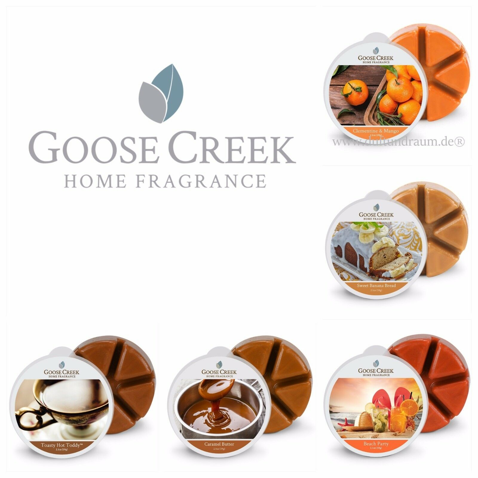 Goose Creek Wax Melts, 30 Scents to Choose From, Save 10% Wh