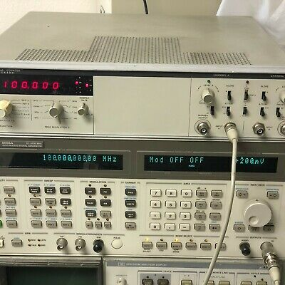 Hp Hewlett Packard 5328a Universal Counter 100 Mhz Opt. 040 011 Tested - Good