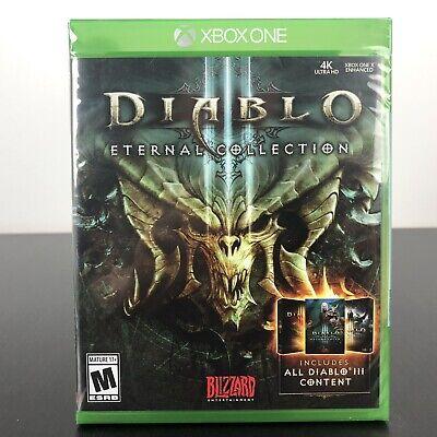 Diablo III: Eternal Collection (Xbox One, 2017) - NEW