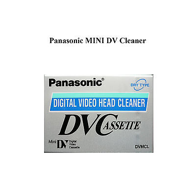 Panasonic Mini DV Camcorder Head Cleaner Cassette Tape MiniDV DVC - AY-DVMCLWW