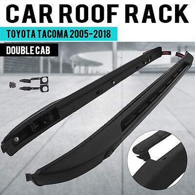 Roof Rail Crossbars - US Stock Roof Rack Rail Cross Bar for Toyota Tacoma 2005-2018 Aluminium Baggage