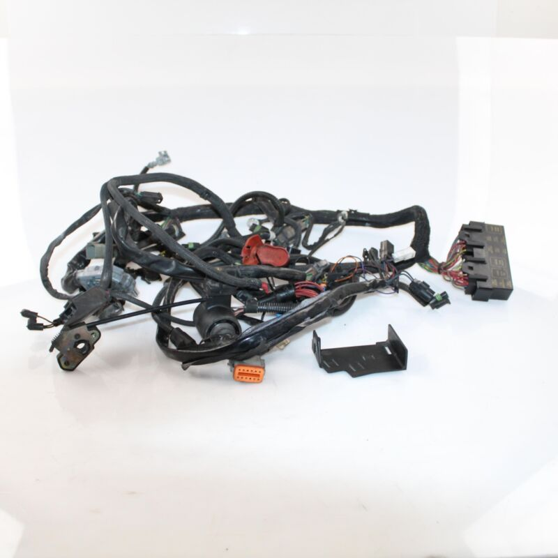 05 harley davidson v rod vrscb main wire harness loom with key and rh ebay com Fishing Rod Belt Hot Rod