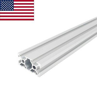 Zyltech 2040 20mmx40mm T-slot Aluminum Extrusion - 1000 Mm 1m Cnc 3d Printer
