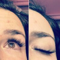 Pose de cils  - eyelash extensions -full set - promo 65$
