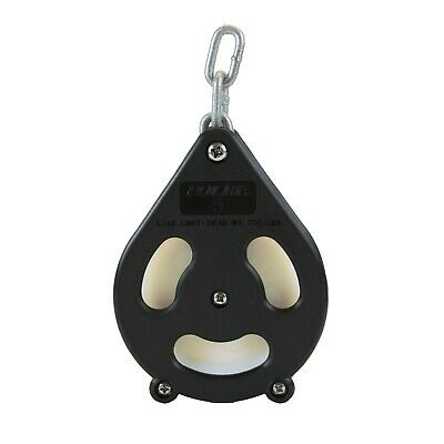 Folbe 5 Rope Pulley Snatch Block Commercial Fishing Trolling Boating