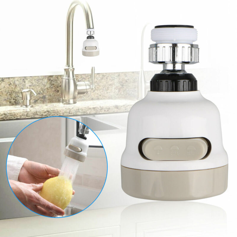 Moveable Kitchen Tap Head 360° Rotatable Faucet Water Savin