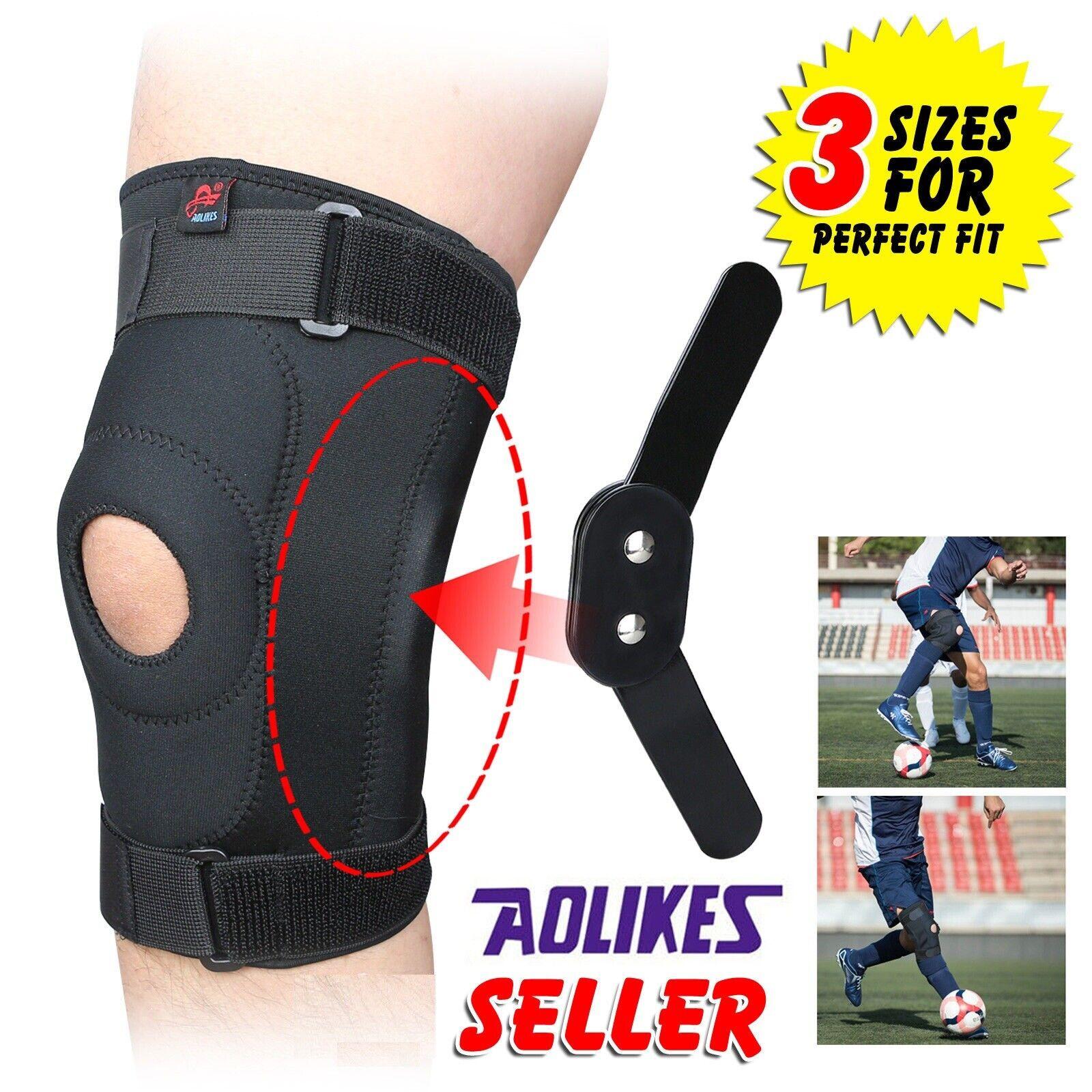 Knee Brace Support Patella Stabilizer Neoprene Support for M