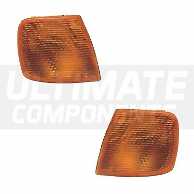 Ford Sierra Mk2 Saloon 1/1987-12/1990 Front Amber Indicators Lights Lamps 1 Pair