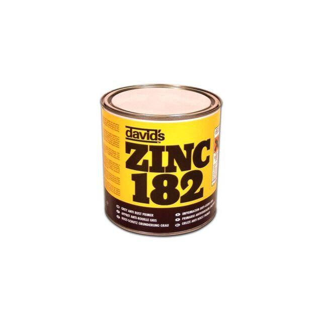 1 X Isopon Zinc 182 Grey Anti-Rust Primer 2.5L Quick Permanent Vehicle Repairs