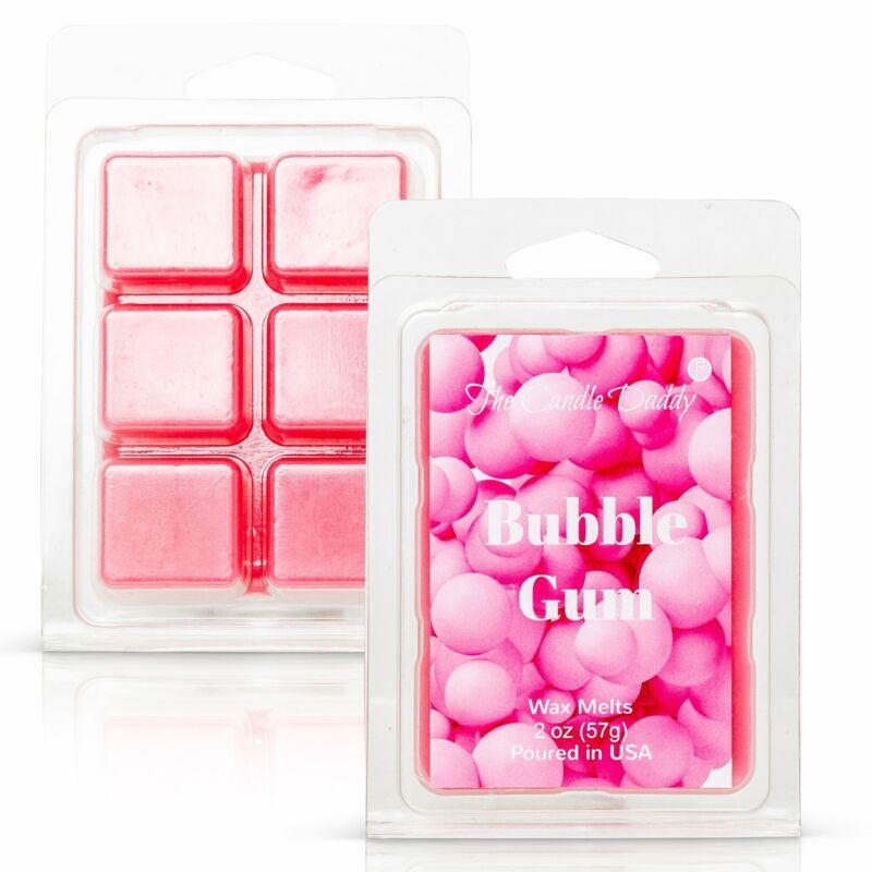 Bubble Gum - Pink Bubble Gum Scented Melt- Maximum Scent Wax Cubes/Melts- 1 Pack