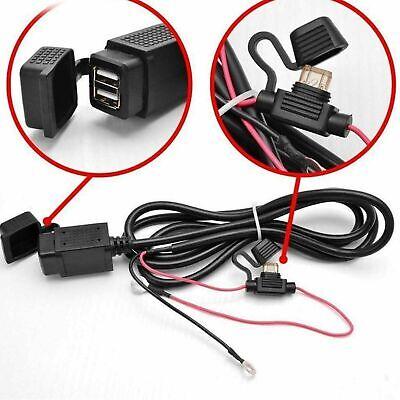 12V USB Alimentación Moto GPS Móvil Dual Cargador Enchufe Vendedor GB