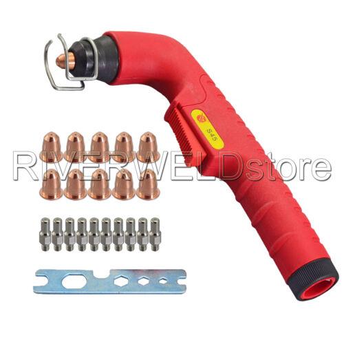 S45 Plasma Torch Head & Tips PD0116-08 & Electrode PR0110 22PCS