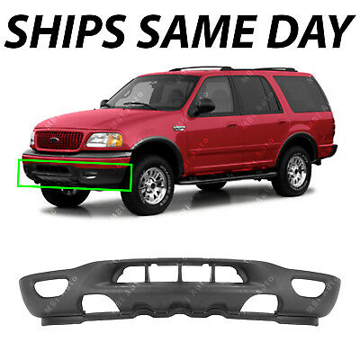 Textured - Front Bumper Valance Expedition For 1999-2002 Ford F150 Tow/Fog Holes