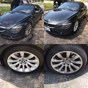 Mobile auto detailing at your doorstep