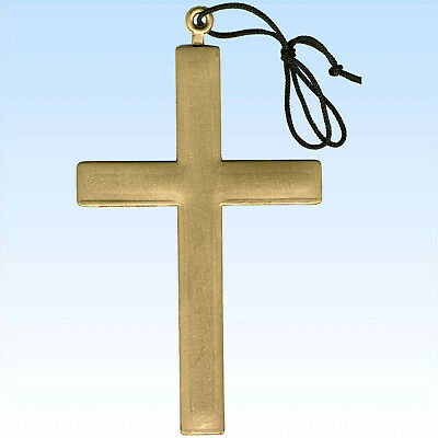 stüme Gold Kardinal Priester Mönch Papst Kirche Anhänger (Mönch Kreuz)