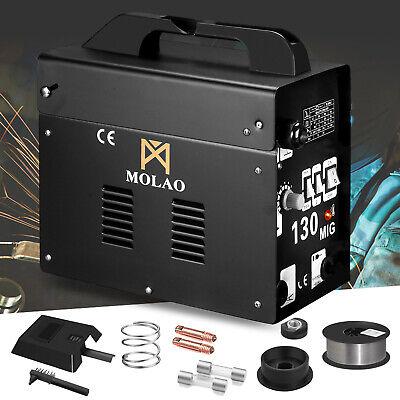 Mig 130 Welder Ac Flux Core Wire Automatic Feed Welding Machine Wmaskspool Gun