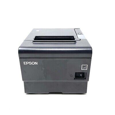 Epson M338a Tm-t88vi Ethernet Rs232 Thermal Receipt Printer W External Buzzer