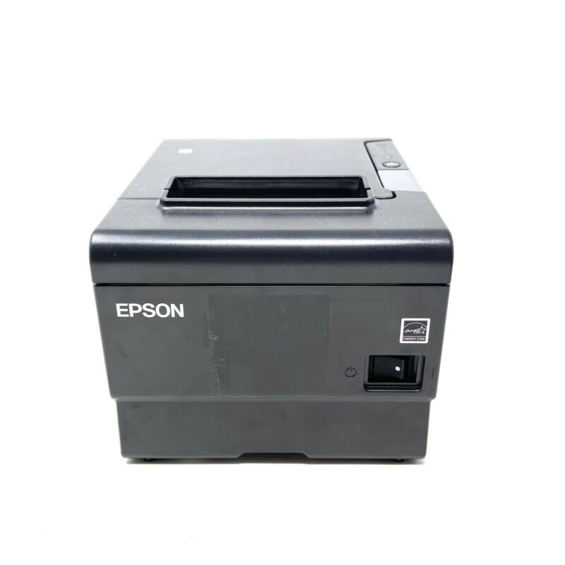 Epson M338A TM-T88VI Ethernet RS232 Thermal Receipt Printer w/ External Buzzer