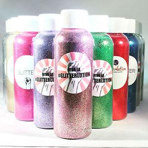 Glitterlution Biodegradable Glitter - Premium cosmetic face/body glitters