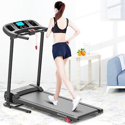 Laufband elektrisch Heimtrainer Fitnessgerät Jogging klappbar mit LCD