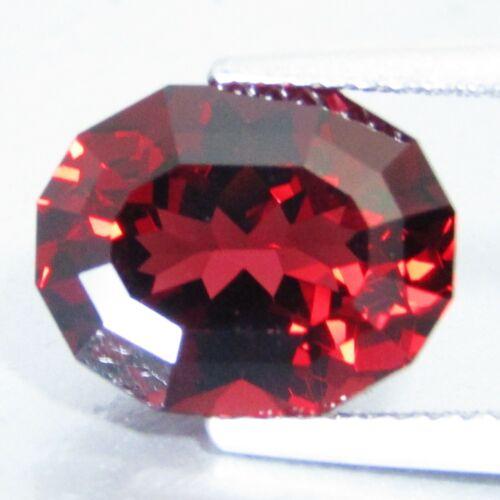 5.36Ct Natural Excellent Red Color Almandine Garnet Oval Custom Cut Ref ref VDO